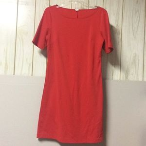 Old navy red crew dress